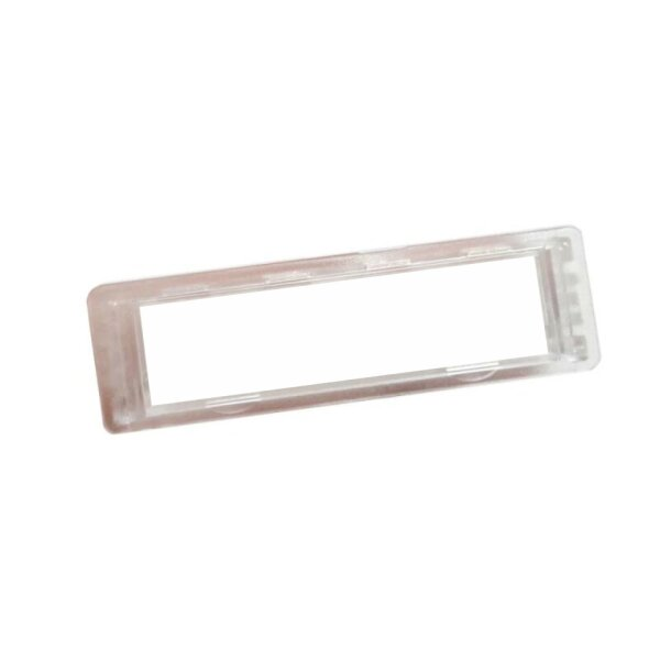 RENZ Namensschild 92 glasklar 75x22mm RENZ Nummer 97982016