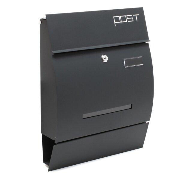 Design Briefkasten Anthrazit Der Profi Fur Briefkasten 78 95